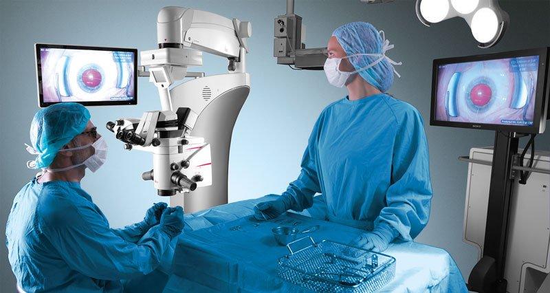 Nový operačný mikroskop Leica Proveo 8