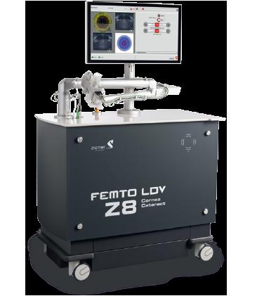 Femtosekundový laser FEMTO LDV Z8 švajčiarskej firmy Ziemer