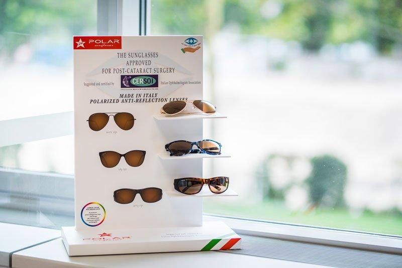Ochrana zraku po operácií