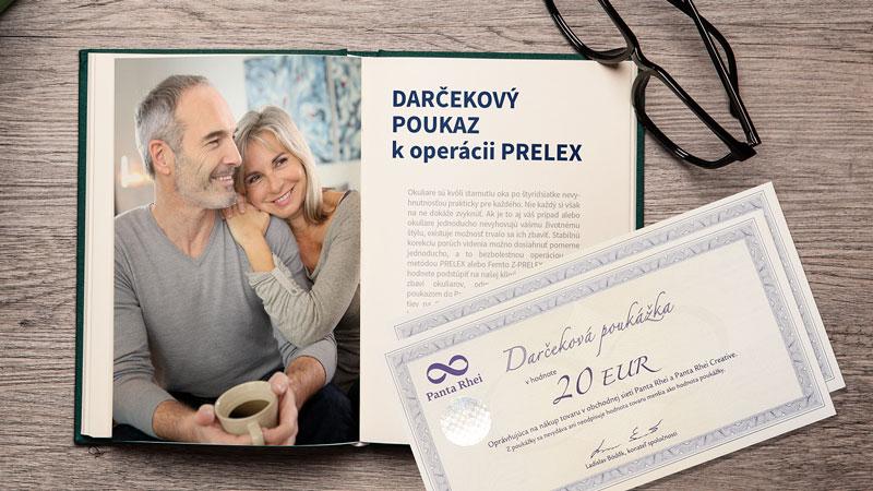 Darčekový poukaz k operácii PRELEX