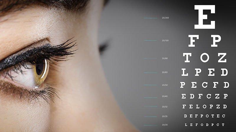 Zhoršil sa vám zrak? Otestujte svoje oči